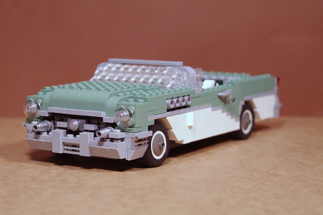 1955 Buick Century Convertible, Surfer with Surfboard