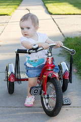 Tricycle (Craig Dyni) Tags: girl toddler madelyn alannah dyni