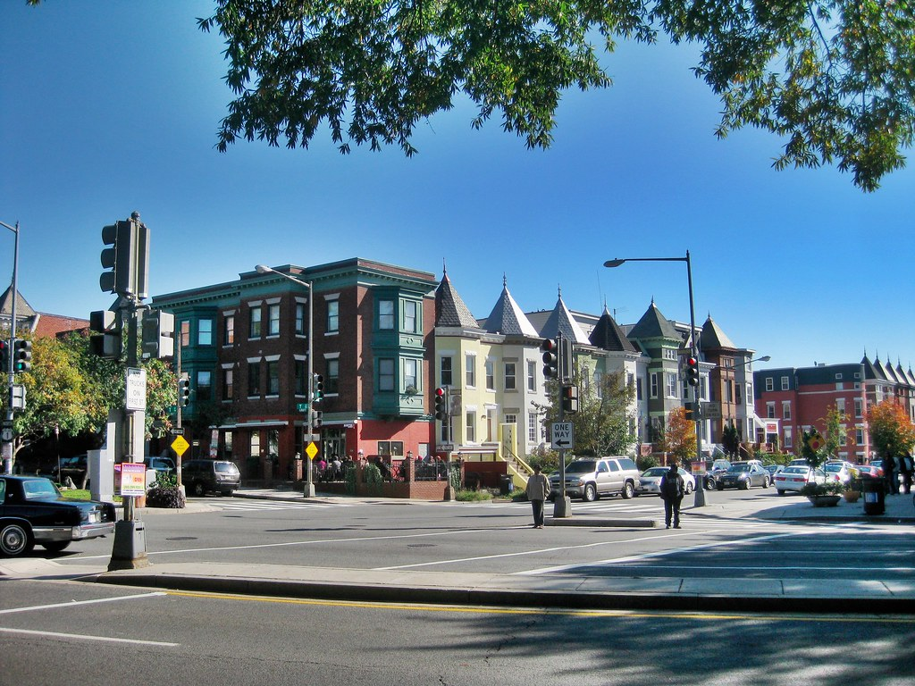 First St. and Rhode Island Avenue NW