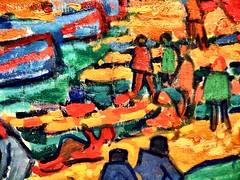 Fishing Boats, Collioure_TheMET(8) (rverc) Tags: nyc art met metropolitanmuseum andréderain europeanpaintings