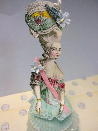 Cupcake Liner Dolls! 2