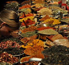 Spice of Life (Surrealplaces) Tags: new york city newyorkcity urban newyork skyline night market centralpark spice gotham brookylnbridge