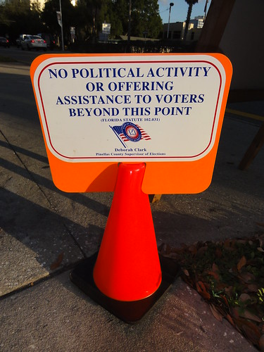 No political activity