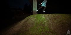 281/365 [LEVITATE] Up the hill (kurichan+) Tags: portrait grass night self nikon hill levitation float d3 levitate project365 365days 1424mmf28 365point2 levitology
