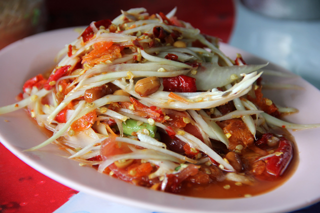 6328139617 7b6d62e40a o Authentic (and Fiery Hot) Isaan Food: Lan Larb Ubon Restaurant