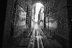 Raindrops are welcome... (Rui Palha) Tags: street people blackandwhite bw underground blackwhite lisbon streetphotography rainydays noirblanche ruipalha