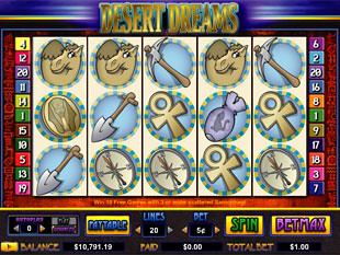 Desert Dreams slot game online review