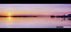 Steveston Harbour (Clayton Perry Photoworks) Tags: sunset panorama silhouettes richmond fraserriver hdr steveston