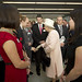 Her Majesty meets Gallery Assistants, and community project participants||