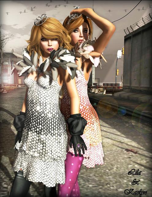 Kaelyn & Lila in Mimiri Cosmic Diva & Cosmic Vamp - 2