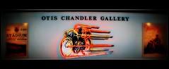 Otis Chandler Gallery (sendome) Tags: cinema classic bike sign racetrack race vintage lomo neon track gallery otis fast racing motorcycle chandler motorsports orton petersonautomuseum