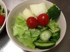 朝食サラダ(2011/11/14)