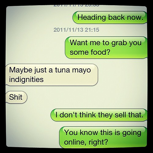 Autocorrect up to its usual tricks. by dobharrison, on Flickr