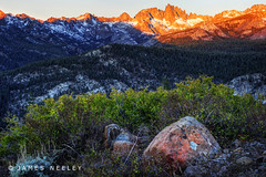 The Advance of Light (James Neeley) Tags: sunset mountains sunrise landscape hdr minarets easternsierra 5xp minaretsummit jamesneeley flickr23 minaretpass