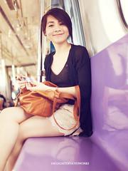 kri16 (joms-allsunday) Tags: train hair asian pretty philippines short pinay filipina lrt2