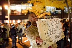 Sgt. Thomas (Tom Starkweather) Tags: park street new york city wall is thomas manhattan no police honor there brutality sgt occupy zuccotti