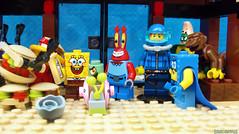 Day 323 (chrisofpie) Tags: chris pie monkey lego doug legos hero heroes minifig roger minifigure bluehat legohero chrisofpie rogeranddoug 365legos dougthechimp