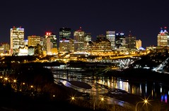 Another look at my town (Matthew P Sharp) Tags: light canada skyline downtown edmonton images best alberta nights nightview edmontonnightview