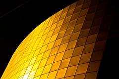 Seulement une fois par jour / Only once per day (fidgi) Tags: abstract black paris yellow architecture jaune noir abstrait opérabastille allxpressus bestofr252