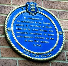 Photo of Lillian Bilocca blue plaque