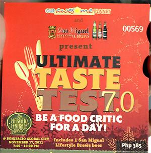 Ultimate Taste Test 7 in Mercato Centrale