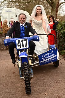 Here Comes The Bride - Sidecar Style
