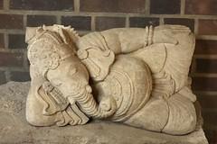 Ganesha (diwan) Tags: sculpture statue canon germany geotagged deutschland eos zoo ganesha saxony leipzig sachsen hindu elefant deity vinayaka ganapati gottheit 2011 canoneos450d vighnesha geo:lon=12370001 geo:lat=51352026 elefantentempelganeshamandir