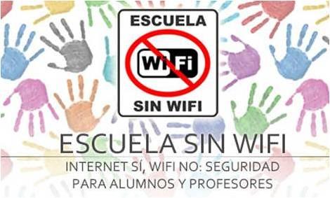 Escuela sin wifi