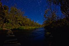 Star Trails Over the Whitewater River (Brendan Meier) Tags: minnesota night startrails whitewaterriver whitewaterstatepark canont2i brendanmeier