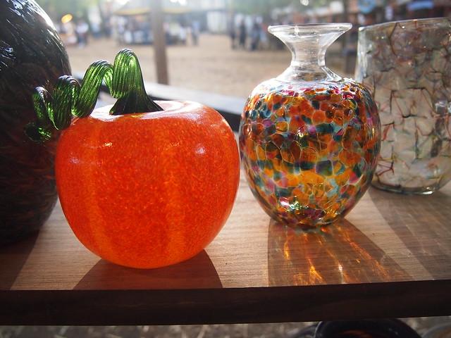 Halloween Glass Pumpkin!