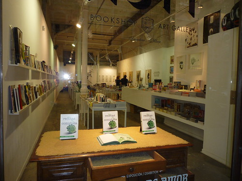 Bookshop Art Gallery Mutt Barcelona