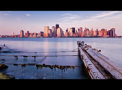New York City Tranquility (RBudhu) Tags: city nyc newyorkcity ny newyork skyline brooklyn manhattan bluesky batterypark gotham newyorknewyork lowermanhattan downtownskyline 7wtc downtownnewyork downtownmanhattan newamsterdam 7worldtradecenter newyorkcityskyline 40wallstreet sevenworldtradecenter oneworldtradecenter