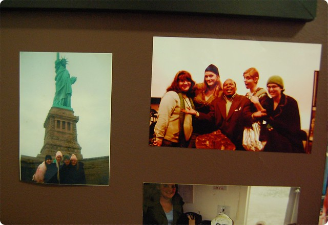 Fun Fact: Steven Spielberg took the photo at The Statue of Liberty. No joke!