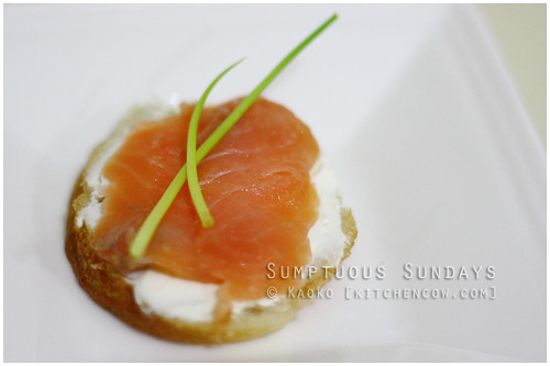 Sumptuous Sundays: Smoked Salmon on Toast