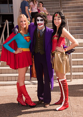 IMG_0361 (tgiskard) Tags: cosplay wonderwoman supergirl thejoker