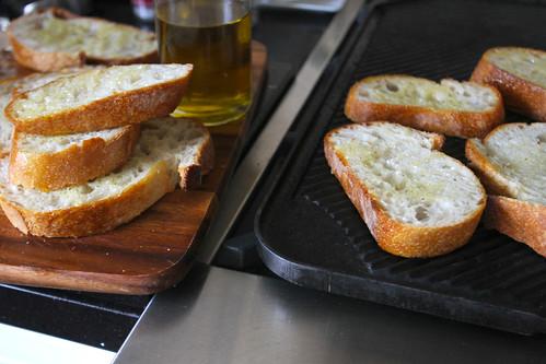 butternut squash ricotta & sage crostini