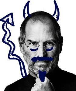 Steve Jobs, el dimoni escuat