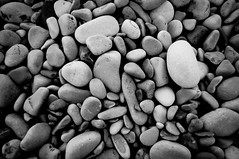 Pebbles (These * Are * My * Photons) Tags: abstract beach monochrome wales pentax pebbles kr justpentax