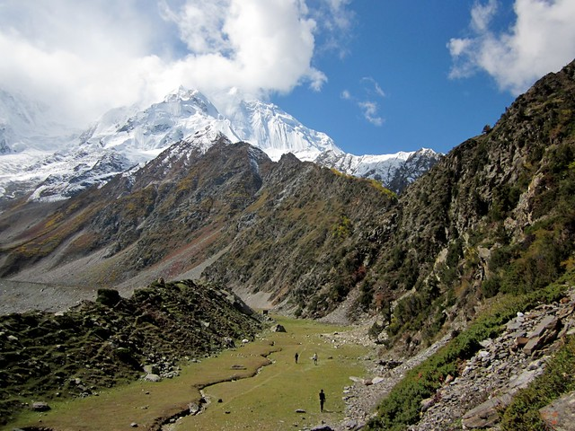 Rakaposhi high camp proper.