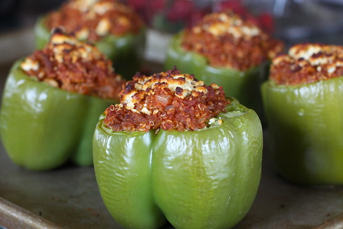 Skinny Girl Stuffed Peppers