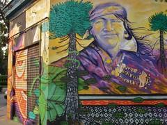 Día de la raza (0_miradas_0) Tags: de la calle américa mural pueblo esquina urbano octubre 12 rafael día domingo santo mapuche raza 1492 sotomayor descubrimiento