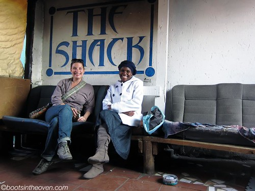 Rachel and Eunice at the Shack