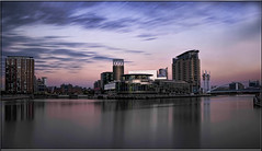 SALFORD QUAYS (Shaun's Nature and Wildlife Images....) Tags: long exposures shaund