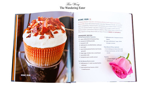 The Home Run cupcake, inside The Butch Bakery Cookbook by David Arrick with Janice Kollar