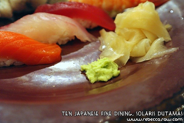 Ten Japanese Fine Dining, Solaris Dutamas-17