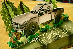 Truck Cake for a 16th Birthday!