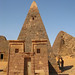 Pyramids of ancient Nubia - Meroe, Sudan