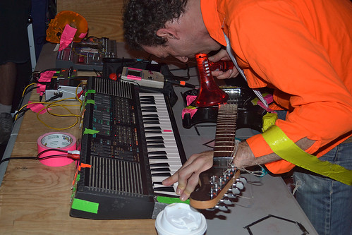 Radio Shock at Death by Audio, October 12, 2011