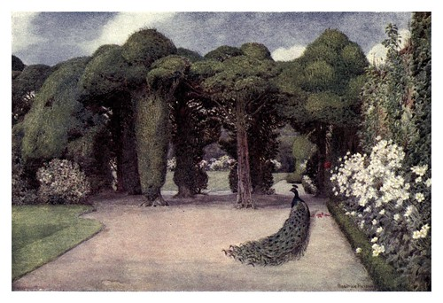 012-Entrada a Ayscough fee hall en Spalding-The charm of gardens 1910- Dion Clayton Calthrop