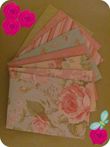 Flowery Envelopes 001
